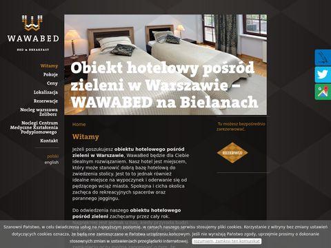Wawabed.pl obiekt hotelowy