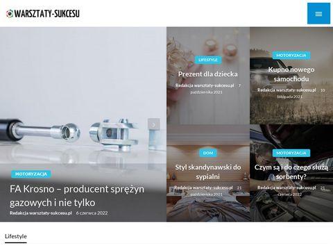 Warsztaty-sukcesu.pl Kraków