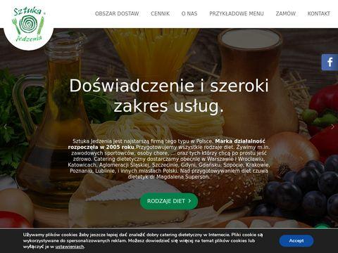 Gotowe dietetyczne posiłki Warszawa