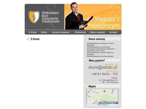 Wbdo.pl odszkodowania za wypadki