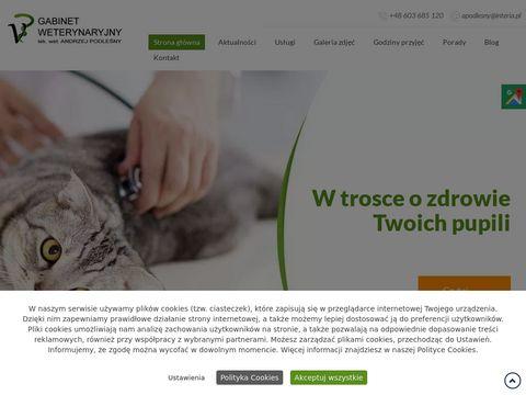 Podleśny Andrzej leczenie zwierząt
