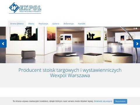 Wexpol budowa i obsługa stoisk