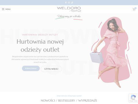Weldoro.com hurtownia odzieży