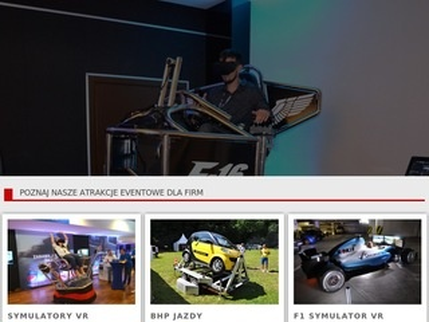 Vreal.pl symulatory VR na wynajem