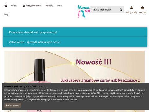 Uczeszsie.pl akcesoria fryzjerskie