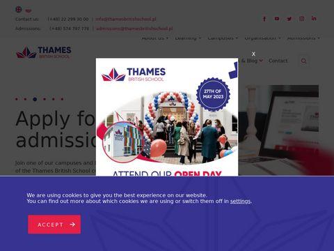 Thamesbritishschool.pl przedszkole