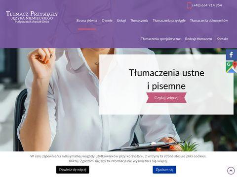 Małgorzata Łukasiak-Zięba tłumacz
