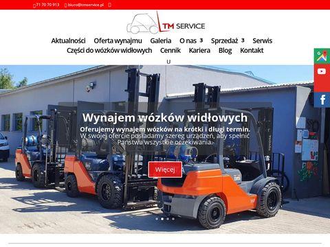 Tmservice.pl wózki widłowe