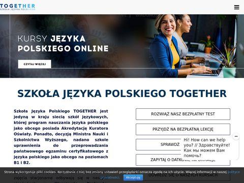 Szkoła językowa Together
