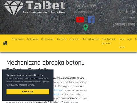 Tabet.pl frezowanie posadzek