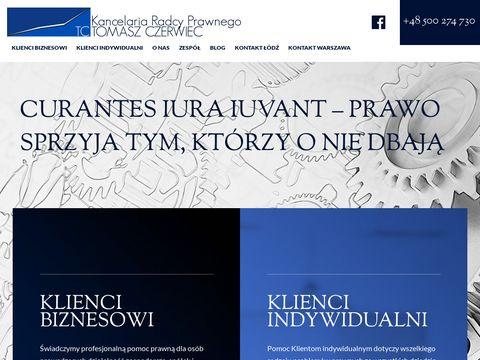 Tczerwiec.pl - radca prawny