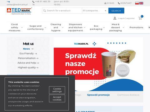 Opakowania na jedzenie - tedmark.pl