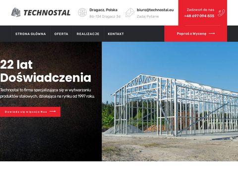 Technostal - konstrukcje stalowe